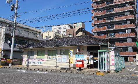 郵便局:勝山郵便局 854m