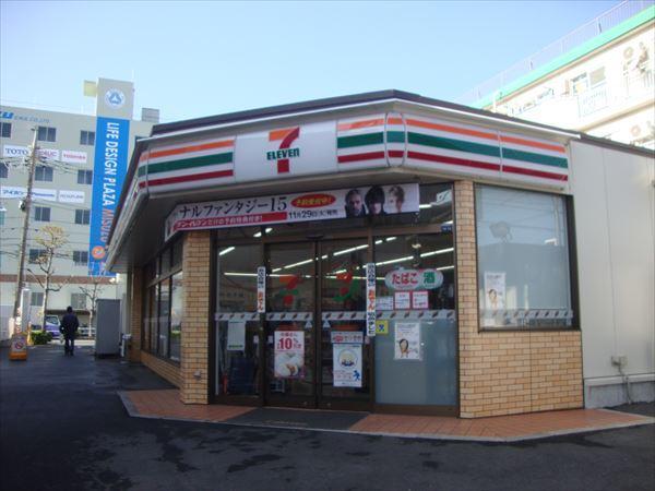 コンビ二:セブンイレブン 新高島平駅前店 742m