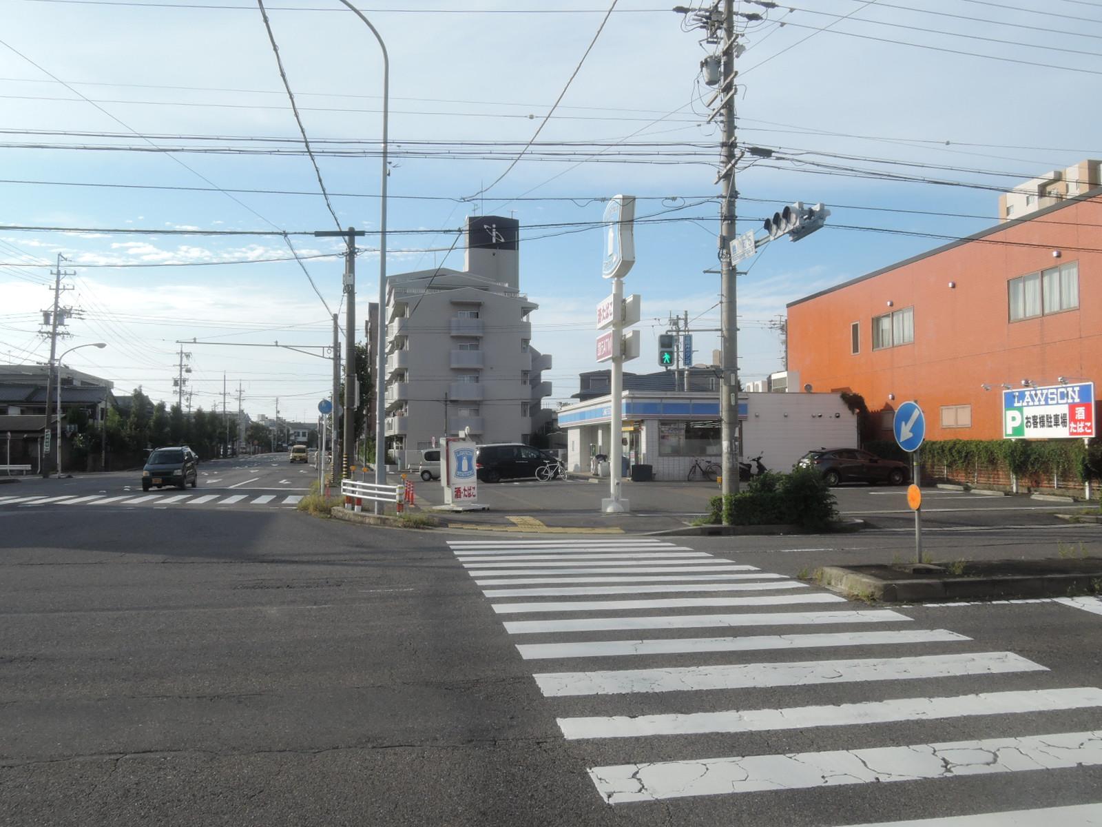 コンビ二:ローソン 春日井勝川店 145m 近隣