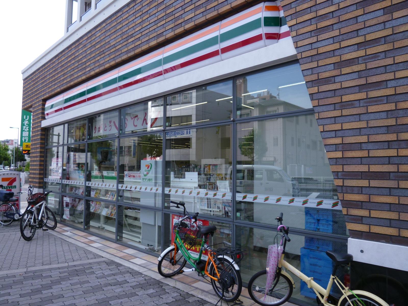コンビ二:セブンイレブン 大阪玉造2丁目店 143m