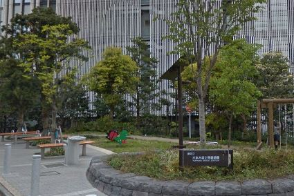 公園:六本木坂上児童遊園 357m