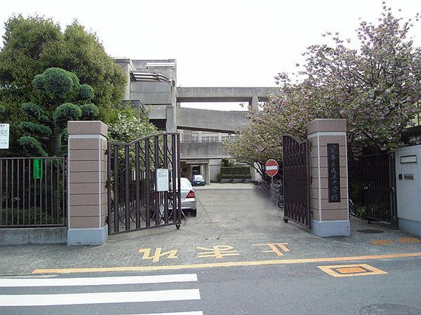 中学校:成法中学校 1100m 近隣