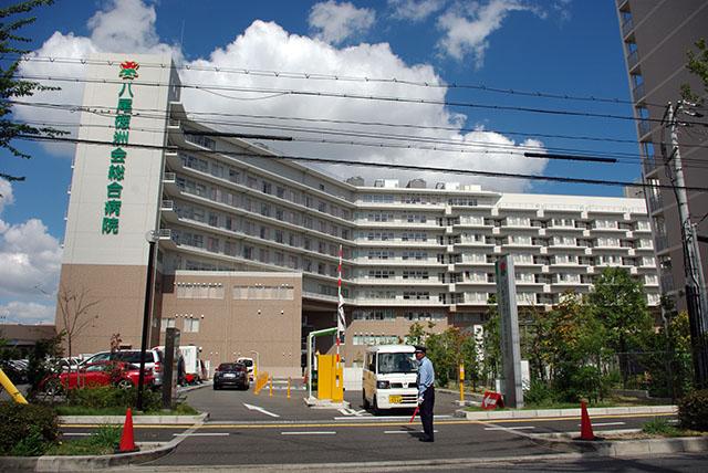 総合病院:徳洲会総合病院 657m