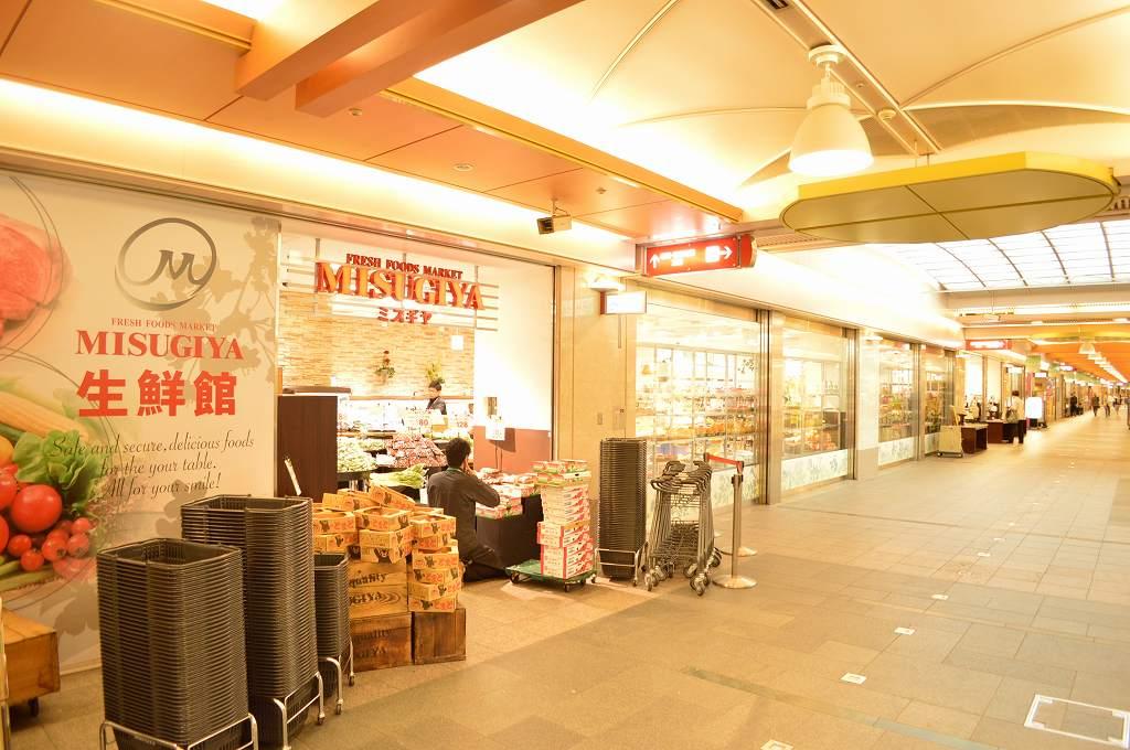 スーパー:昨年OPENで、お買い物がさらに便利になりました(ミスギヤゼスト御池店) 291m