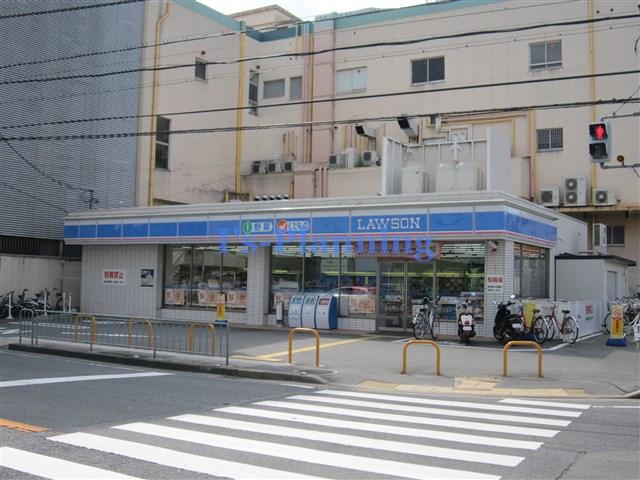 コンビ二:ローソン 宇治小倉駅前店 306m
