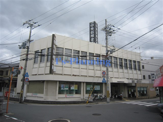 銀行:京都中央信用金庫小倉支店 810m