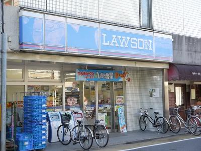 コンビ二:ローソン 西陣店 82m