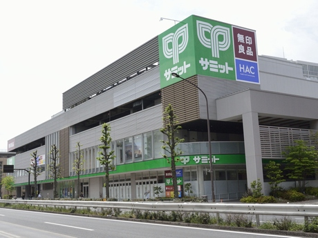 スーパー:サミット砧環八通り店 100m