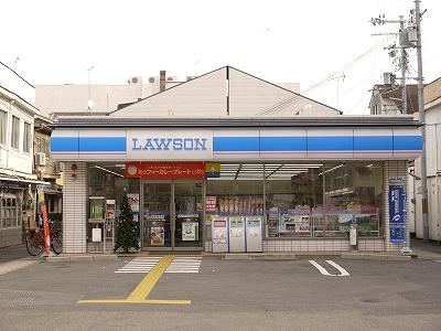 コンビ二:ローソン 千本一条店 506m
