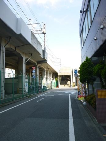 正面北野駅