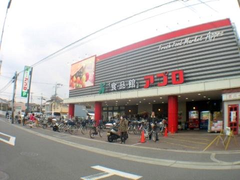 スーパー:食品館アプロ高安店 753m 近隣