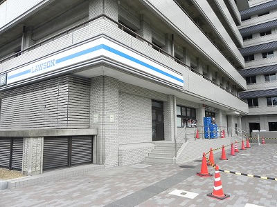 コンビ二:ローソン 京都府立医大病院店 703m