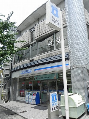 コンビ二:ローソン 岡崎天王店 283m