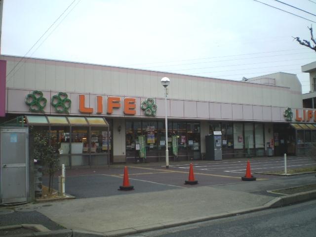 スーパー:ライフ 西新井店 475m