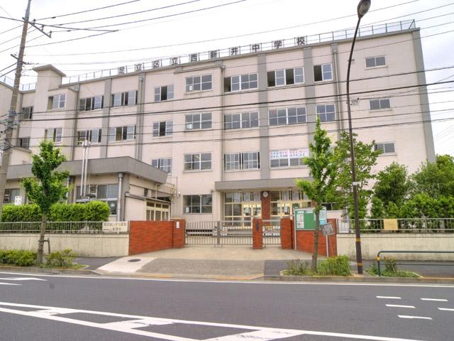 中学校:足立区立 西新井中学校 195m