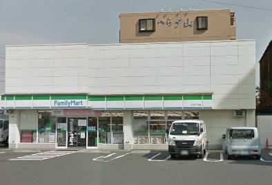 コンビ二:ファミリーマート 江北七丁目店 616m