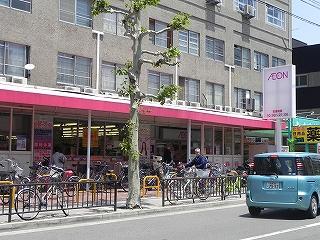 スーパー:イオン東山二条店 617m