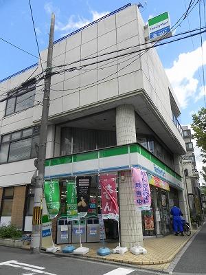 コンビ二:ファミリーマート 京大農学部前店 345m