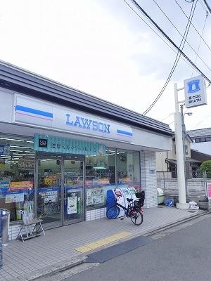 コンビ二:ローソン 高野蓼原町店 328m