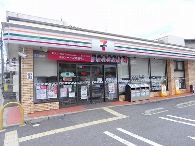 コンビ二:セブンイレブン 京都田中西高原町店 359m