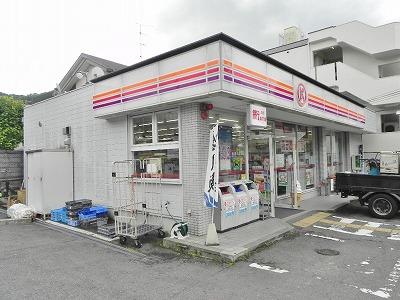 コンビ二:サークルK 京都一乗寺店 369m