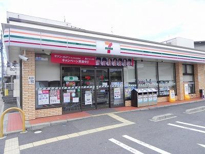 コンビ二:セブンイレブン 京都田中西高原町店 410m