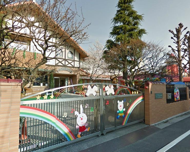 幼稚園:江北白百合幼稚園 318m