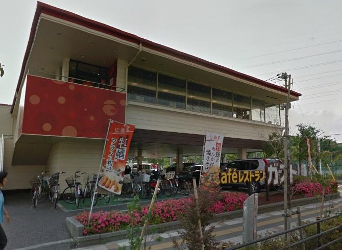 レストラン:ガスト 足立江北店 683m