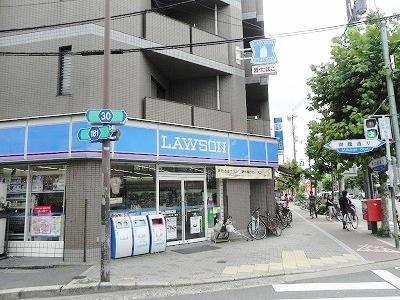 コンビ二:ローソン 田中里ノ前店 63m