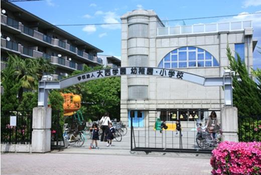 幼稚園:大西学園幼稚園・小学校 500m