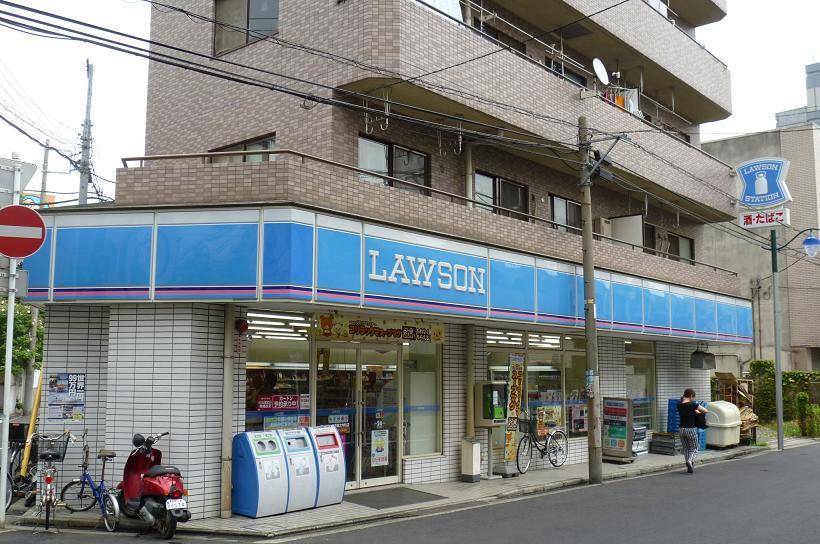 コンビ二:ローソン 堀之内町店 150m