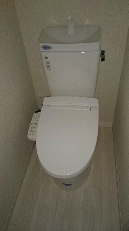 江戸川区南小岩8丁目レオ小岩のトイレ