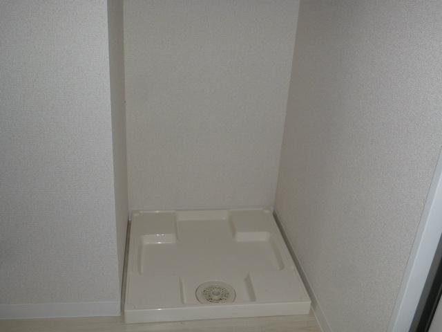 江戸川区南小岩8丁目レオ小岩の洗濯機置き場
