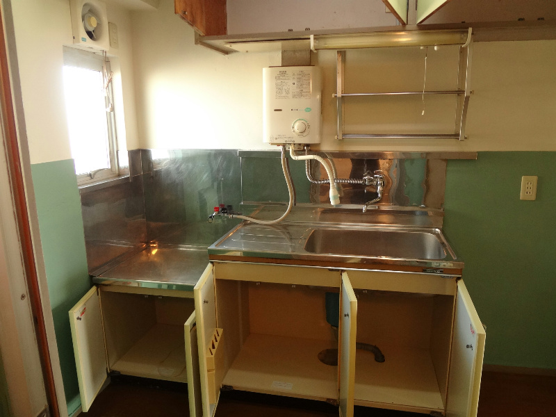 江戸川区南小岩3丁目荒木ビルのキッチン