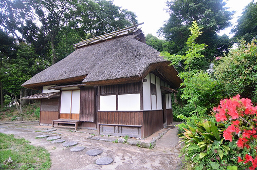 平尾山荘跡