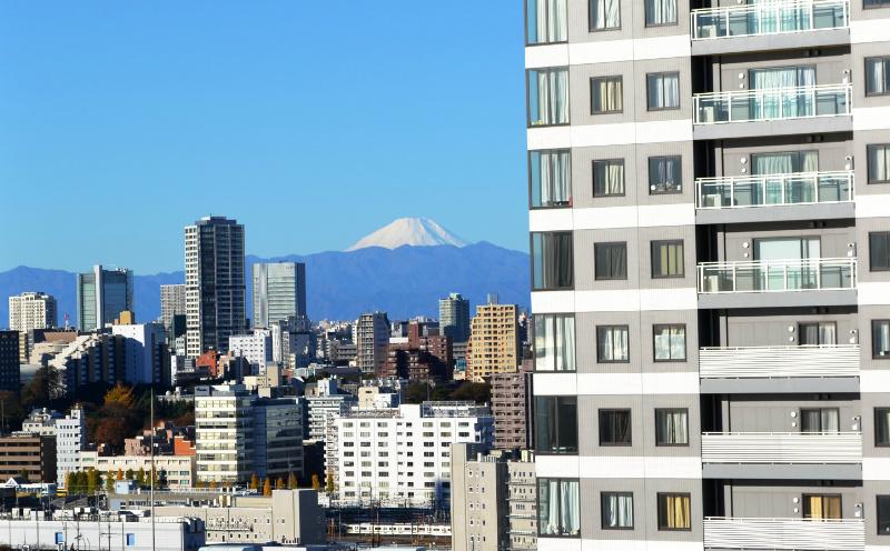 天気の良い日は富士山が綺麗に見えます♪