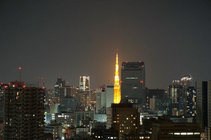 東京タワーがハッキリと!!