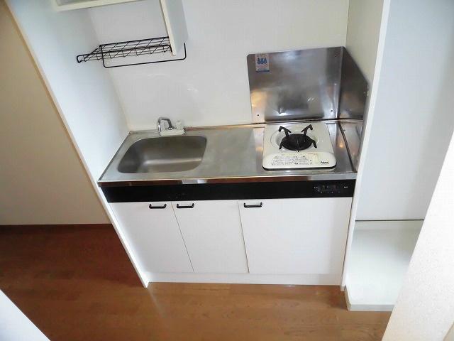 1口がすキッチン!作業スペースもございます!