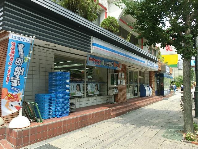 コンビ二:ローソン上賀茂桜井町店 268m
