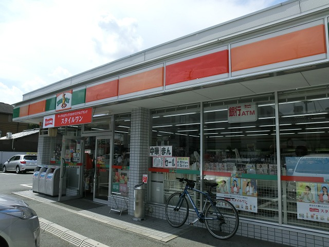 コンビ二:サンクス上賀茂店 598m