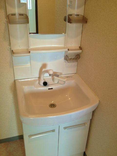 洗面台シャンプードレッサーありますよ