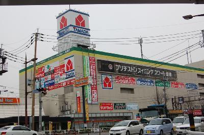 ショッピング施設:ヤマダ電機 400m
