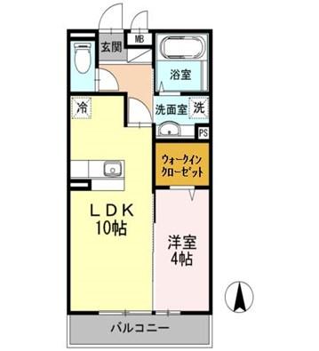室内写真は307号室になります