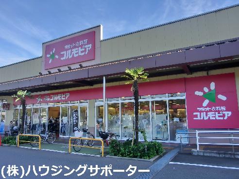 スーパー:コルモピア コピオ楢原店 602m