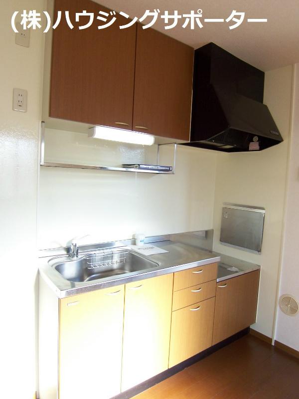 キッチンです。ガス台はご用意ください。