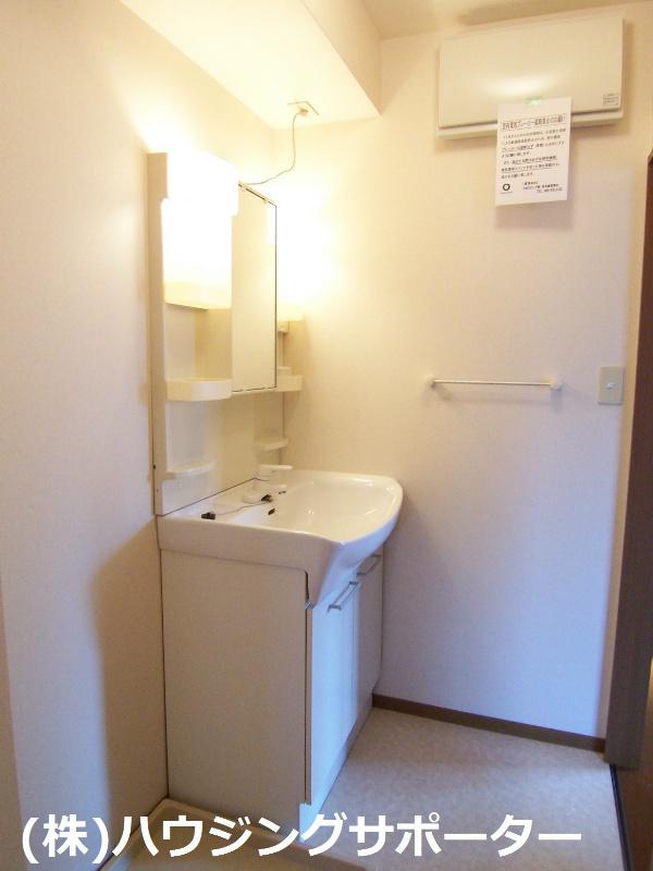 洗面脱衣室も広くていいですね!