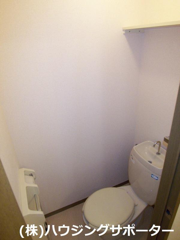 トイレは普通です。。