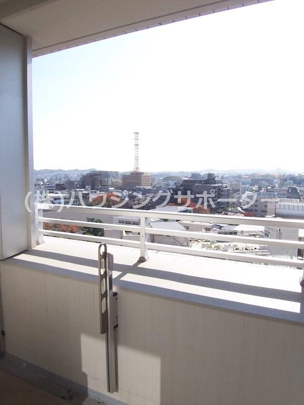 805号室の眺望です