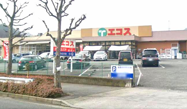 スーパー:エコス 元八王子店 500m