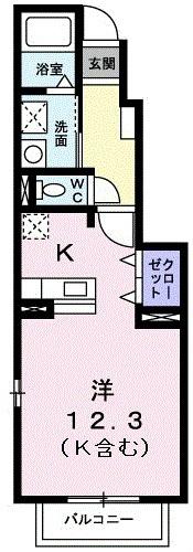 室内写真は104号室です